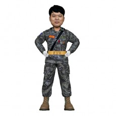 군인/해병대/해군/헌병/허리손 자세