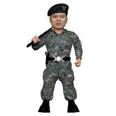 군인 지휘봉 자세/전역선물/지휘관