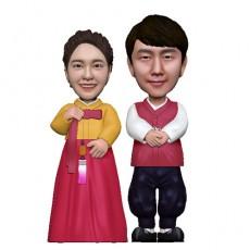 한복/부부/커플/결혼기념일선물[C.H-04]