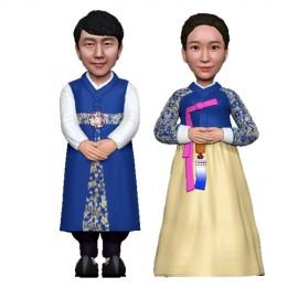 한복/부부/커플/결혼기념일선물[C.H-01]