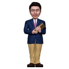 정장/선생님피규어/승진/퇴직
