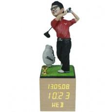 골프/LW001/나무led시계받침/피니쉬