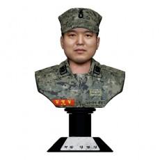 흉상 피규어/군인 D43U_8016