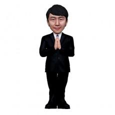 정장/남자정장/손 모은 남자/승진/퇴직선물