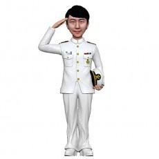 군인피규어/해군하정복/해군피규어