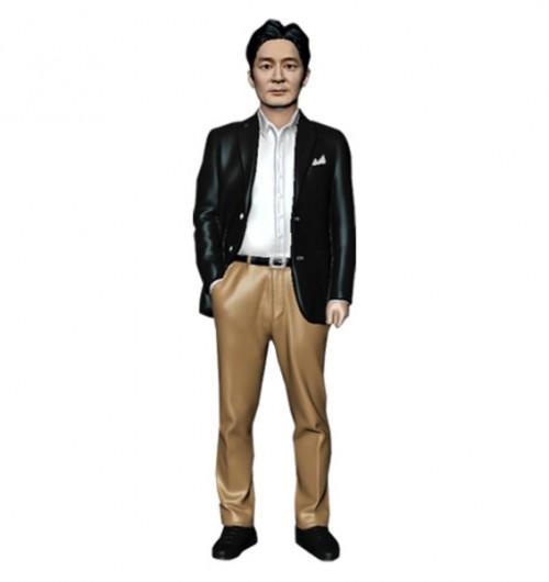 정장/한손주머니/남성/퇴직기념패