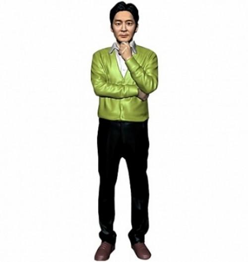 캐쥬얼/한손턱/남성/퇴직기념패