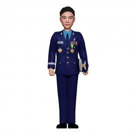 군인피규어 트로피/ 공군정복 /기본자세