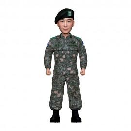 군인피규어 트로피/육군 전투복/기본자세
