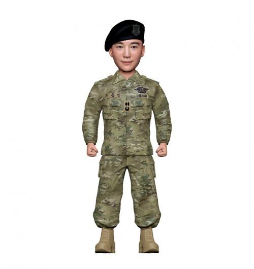 군인피규어 트로피/해군udt/기본