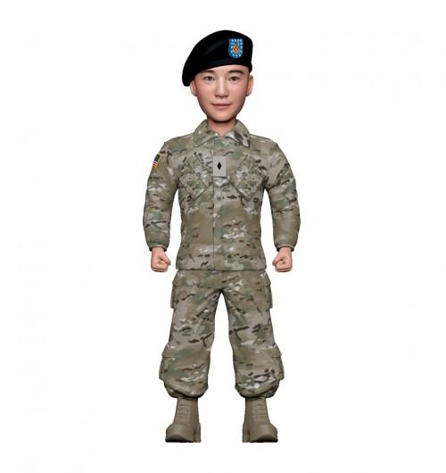 군인피규어 트로피/미군전투복/기본