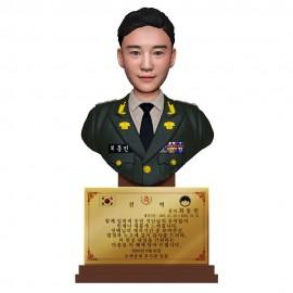 흉상 피규어 H-01 - 육군정복
